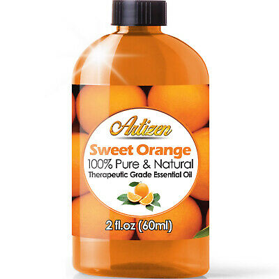 Artizen Sweet Orange Essential Oil (100% PURE & NATURAL - UNDILUTED) - 2oz