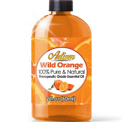 Artizen Wild Orange Essential Oil (100% PURE & NATURAL - UNDILUTED) - 2oz