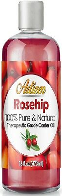 Artizen Rosehip Carrier Oil (100% PURE & NATURAL - UNDILUTED) - 16oz