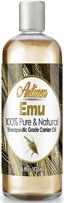 Artizen Emu Carrier Oil (100% PURE & NATURAL - UNDILUTED) - 16oz