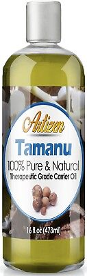 Artizen Tamanu Carrier Oil (100% PURE & NATURAL - UNDILUTED) - 16oz