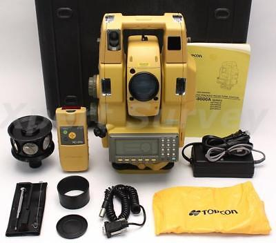 "Topcon GPT-8003A 3"" Robotic Total Station Solo Surveying System 8003A GPT 8000A"