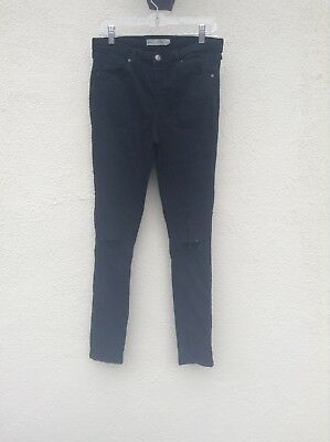 hot-selling fashion sale uk select for latest TOPSHOP MOTO JAMIE High Waist Ankle Grazer Jeans Sz 32 / 14
