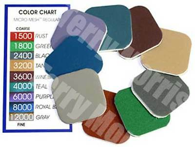 """Micro-Mesh 2"""" Soft Touch Sanding Pads. Made in USA"""