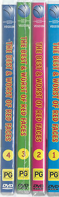 Hey Hey Saturday's Best And The Worst Of Red Faces VOLUMES 1,2,3 & 4 (4 DVD's)