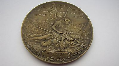 """Gr.Britain/South Africa Boer War """"For Queen And Country"""" medal"""
