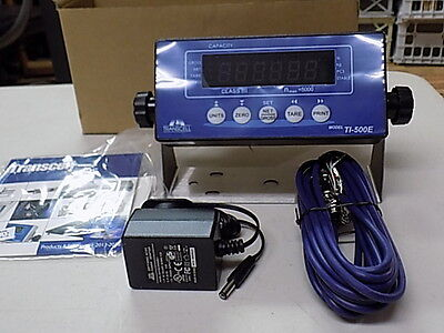 TI-500E Transcell Weigh  Scale Indicator NEW( NTEP)+SurgeProtector Tripp-Lite
