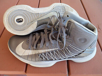 release date b0d99 0cae2 Used Nike Lunar Hyperdunk Grey Basketball Shoes Charcoal 542917-001 Us Mens  11