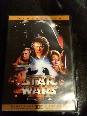 Star Wars: Episode III - Revenge of the Sith (DVD, 2005)