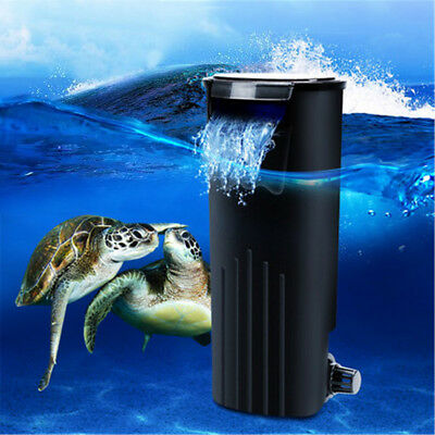 5W 500L/H Noiseless Submersible Water Internal Fish Tank Aquarium Filter Pump