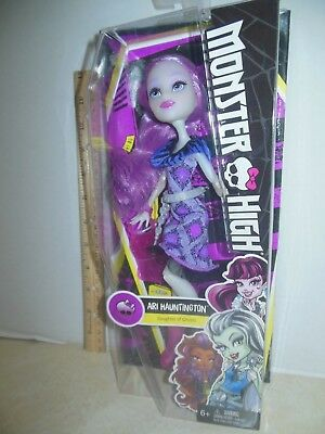 Monster High Daughter of Ghosts Ari Hauntington Doll
