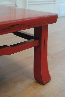Early C20th Japanese Taisho Period Negoro Lacquer Low Table - Coffee Table