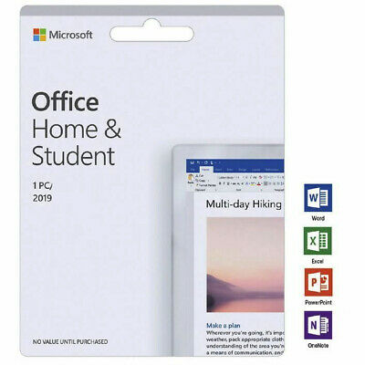 *INSTANT DELIVERY* Microsoft Office Home & Student 2019 Windows PC - 1 PC