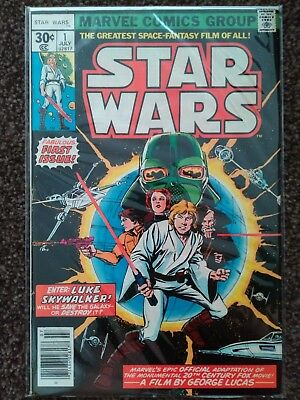 star wars 1977 issue 1 *CGC this! Excellent*