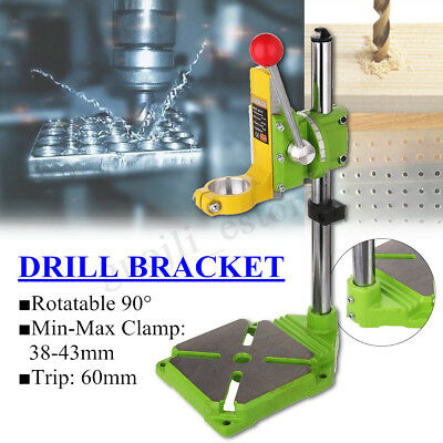 Bench Drill Stand Press Electric Workbench Bracket Bench 90° Rotating Frame Tool