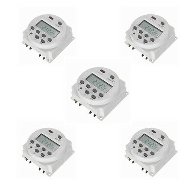 [PACK OF 5]Mini LCD Digital Programmable Control Power Timer Switch Time  Kj
