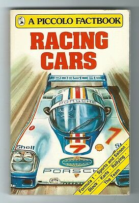 RACING CARS A Piccolo Factbook by Ian Penberthy (Paperback, 1985)