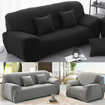 Elastic Fabric Sofa Cover Sectional/Corner Couch Covers Fit Home Decor 1-3 Seats