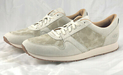 7640c9dfd3a MENS UGG TRIGO Suede Sneakers 1094670 Cement Camouflage Size 13