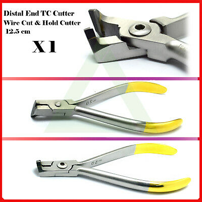 Distal End Cutter Orthodontists Clinical Cut and Hold Ligature Wire TC Cutter