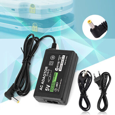 AC Adapter Wall Charger Power Supply Cord for Sony PSP 1000/2000/3000 US EU Plug
