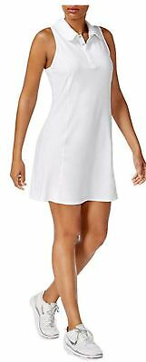 IDEOLOGY WOMENS PLUS Size Tennis Polo Dress White 1X/2X/3X NEW with tag