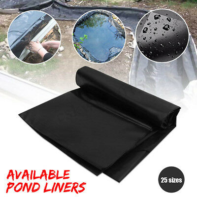 Large Fish Pond Liner PVC Reinforced Landscaping Gardens Pools Underlaymen