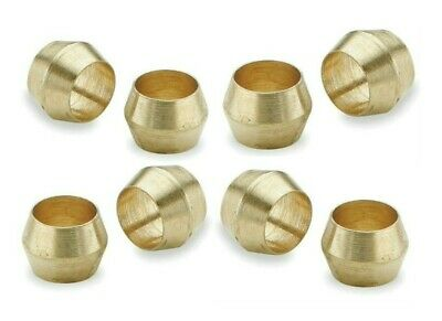 Brass Olives. 5mm. Compression. Pipe fitting. Pack of 5. *Top Quality!