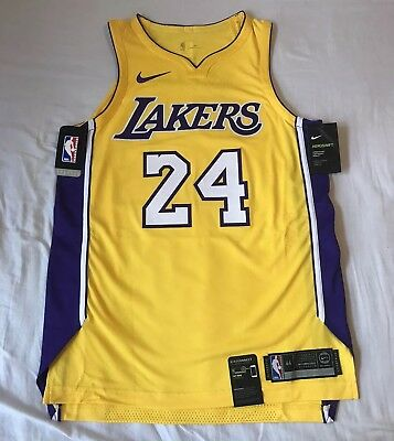 bd2a51fcc Kobe Bryant Los Angeles Lakers Nike Authentic Association Edition Jersey  Medium