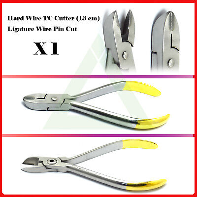 Hard Wire Cutter TC With Safety Cut Dentist Tungsten Carbide Tip Orthodontic