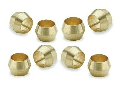 Brass Olives. 10mm. Compression. Pipe fitting. Pack of 5. *Top Quality!