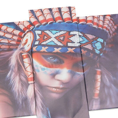 5Pcs Set Indian Woman Canvas Print Art Painting Wall Picture Modern Home