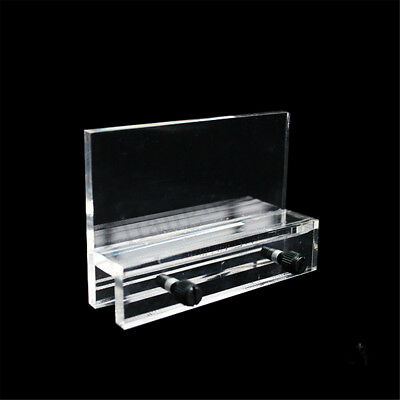 Aquarium Clear Acrylic Fish Tank LED Light Holder Lamp Fixtures Support Stand 1