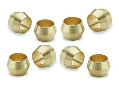 Brass Olives. 1/8 Inches. Compression. Pipe fitting. Pack of 5. *Top Quality!