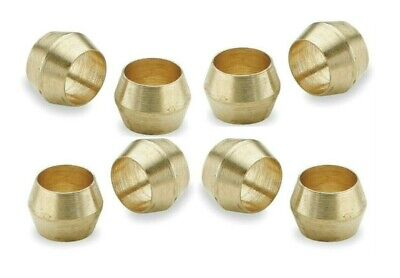 Brass Olives. 1/4 Inches. Compression. Pipe fitting. Pack of 5. *Top Quality!