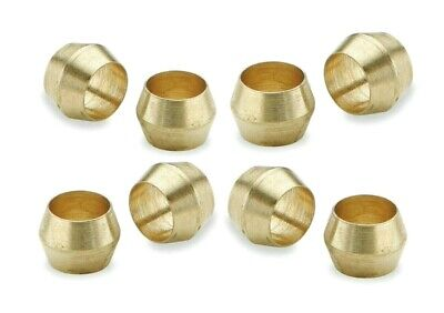 Brass Olives. 3/8 Inches. Compression. Pipe fitting. Pack of 5. *Top Quality!