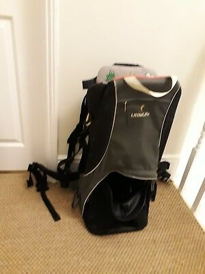 LittleLife Child & Baby Carrier - Cross Country. Great condition with manual.