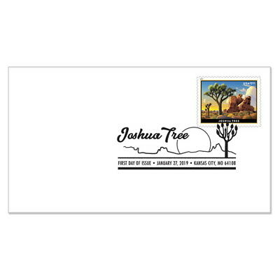 USPS New Joshua Tree Priority Mail First Day Cover