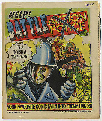 Battle Action Force 24th May 1986 (very high grade) Johnny Red, Charley's War