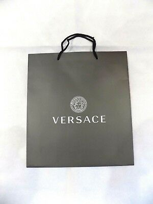 VERSACE Empty Paper Bag Extra Large Shopping Bag Gift