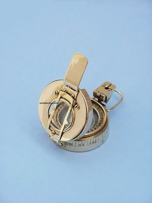 Nautical Solid Brass Engineers Compass, ANTIQUE COMPASS ,COMPASS