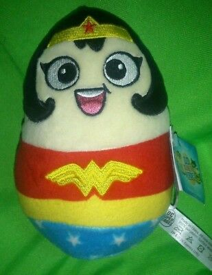 Brand New Exclusive Adorable Cute Wonderwoman Dc Egg Limited Edition 7Inch Plush