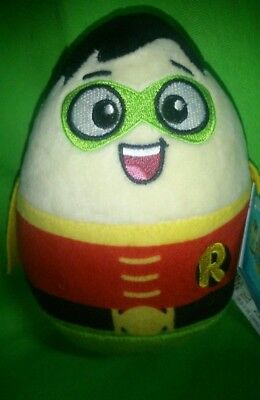 Brand New Exclusive Adorable Cute Robin Dc Egg Limited Edition 7Inch Plush