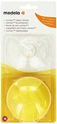 Medela 200.1593 Contact Nipple Shields with Case 20 mm - Medium