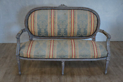 Vintage Painted French Settee