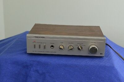 vintage pro audio Realistic SA-150 integrated stereo amplifier 31-1955 wood