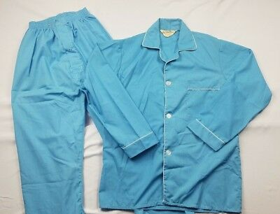 Vintage Richman Brothers Men's 2 Piece Pajama Set Approx-Large
