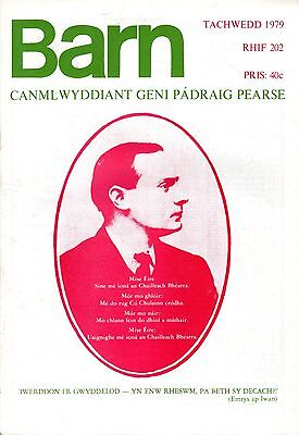 "PADRAIG PEARSE REMEMBERED IN POEMS & PROSE -- WELSH MONTHLY ""BARN"" No 202 (1979)"