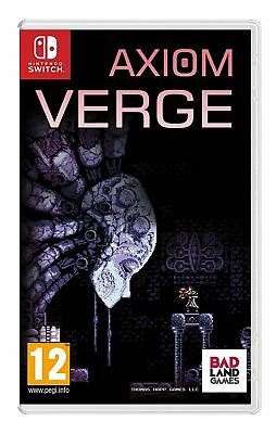 Axiom Verge Nintendo Switch Brand New Sealed Official Game PEGI 12