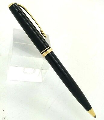 Ballpoint Pen MONTBLANC Generation Black Resin & Gold Plated Trims